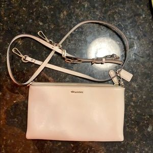 Coach Pouch with Removable shoulder strap